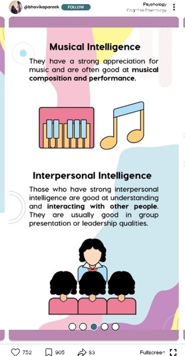 musical and interpersonal intelligence facts