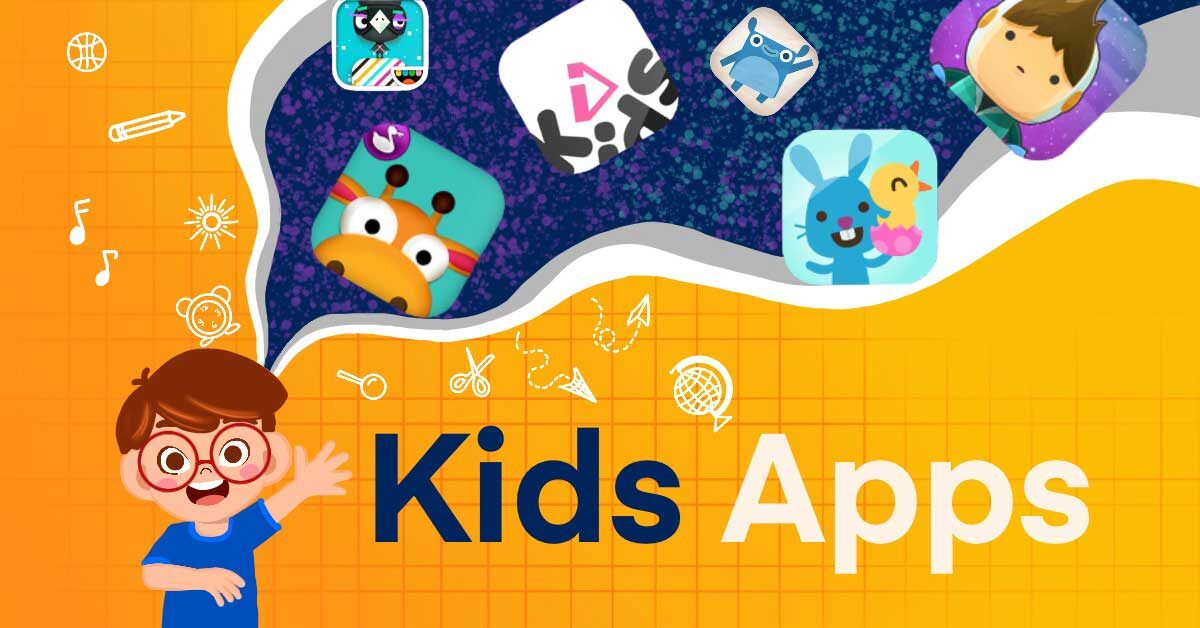 Kids apps category page