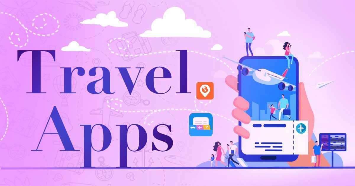 Travel apps category page